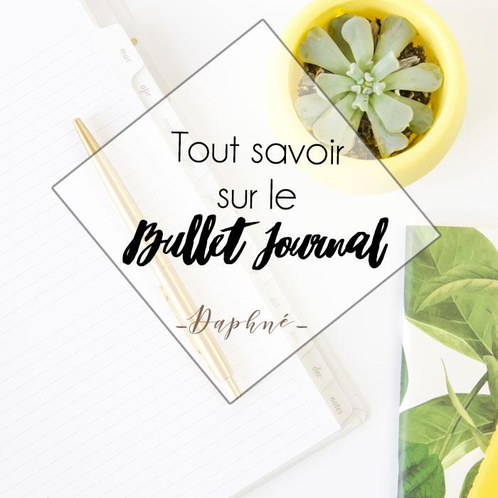 Tout savoir sur le Bullet Journal !