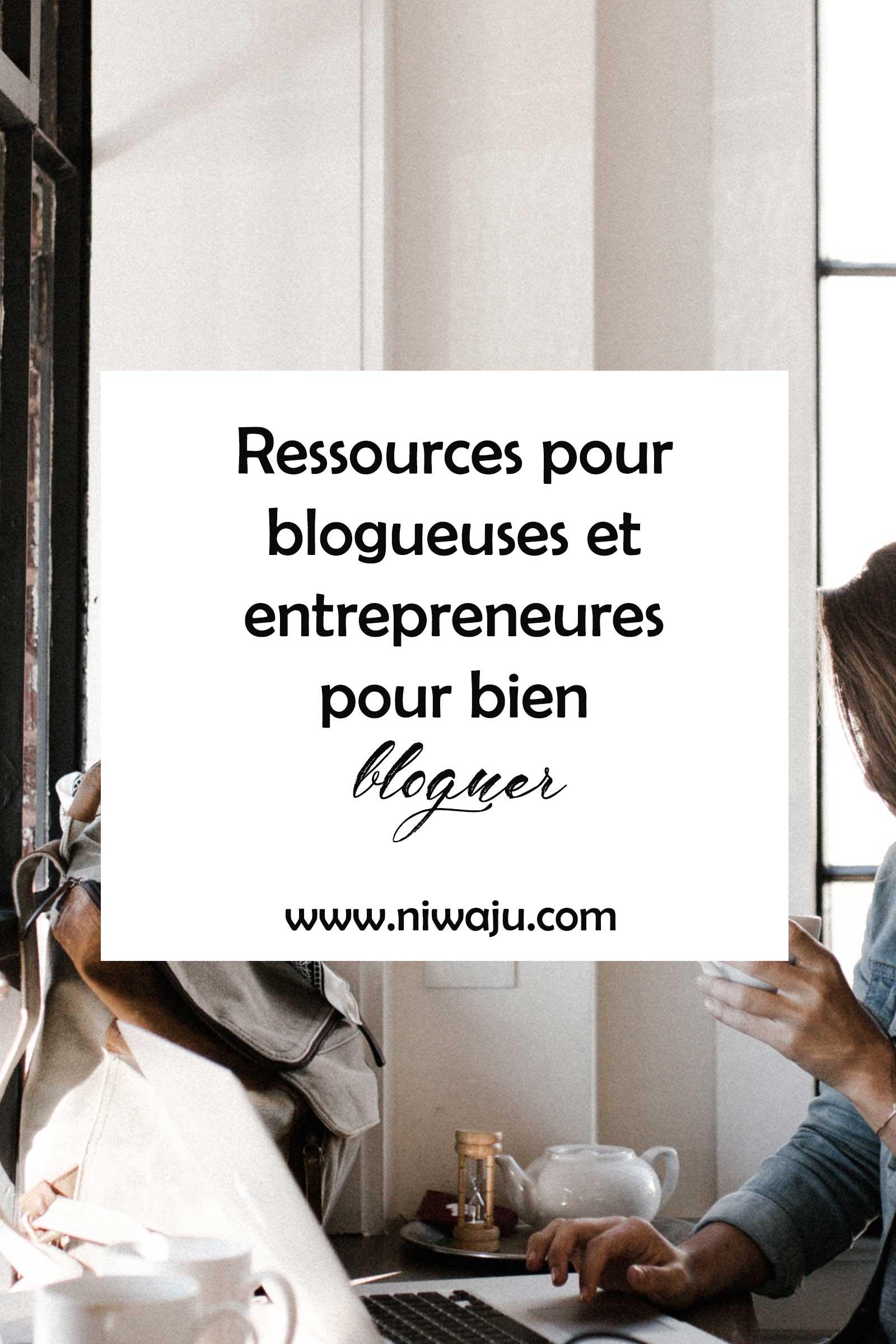 Ressources pour blogueuses et freelances