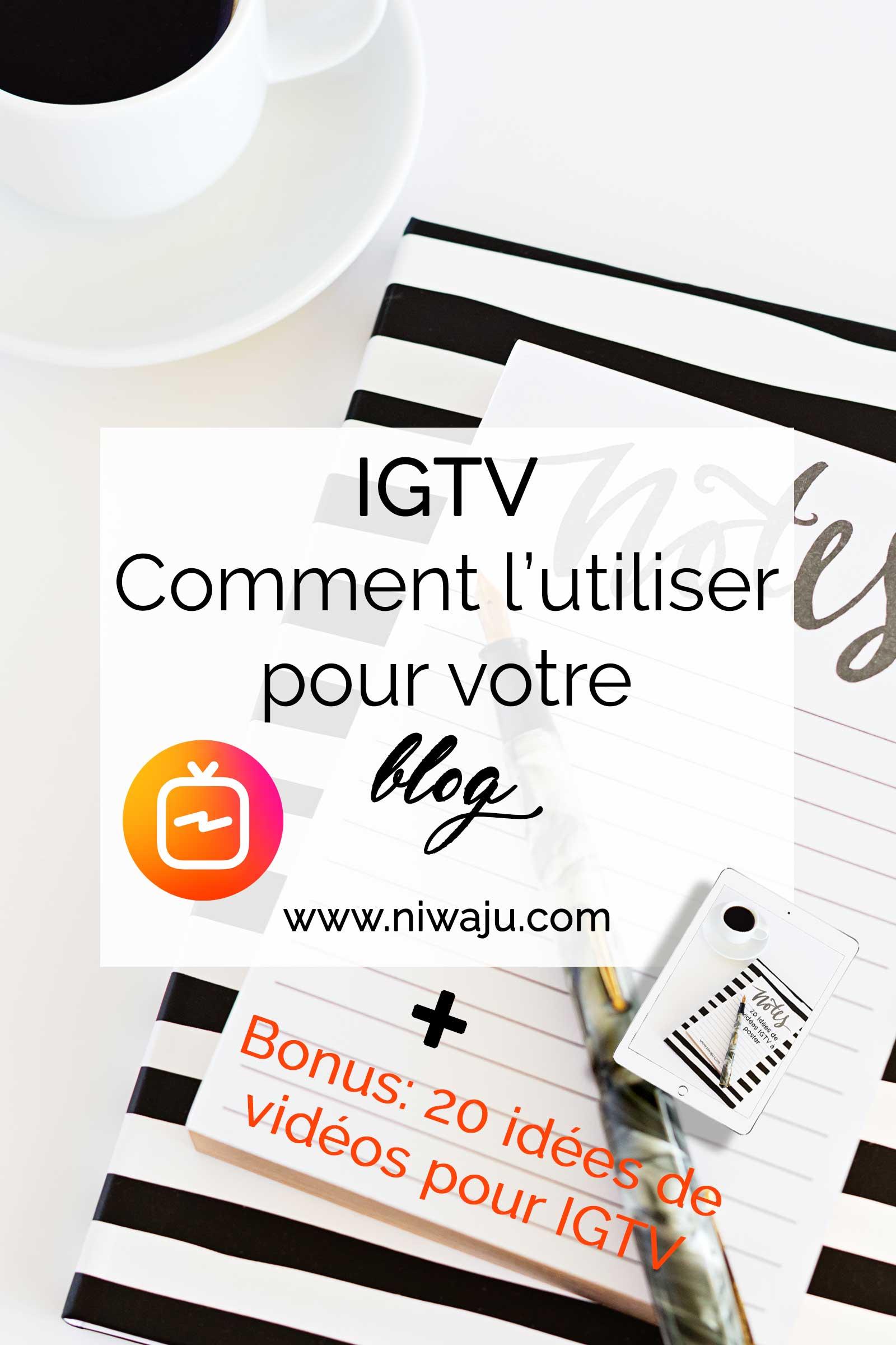 IGTV, Comment l'utiliser pour son blog ou son entreprise
